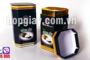sản xuất hộp trà bát giác